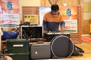 音響担当の光川さん