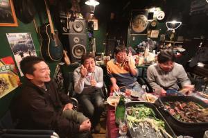 左から、甲斐さん、高田さん、光川さん、井山さん