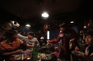 左から、光川さん、井山さん、池田さん、田島さん